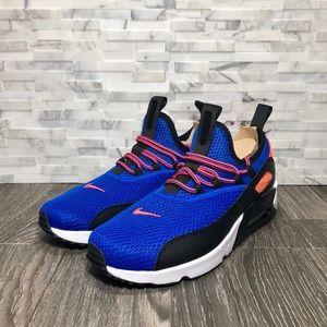 sports shoes 7d702 3d877 Nike Shoes - NWOT Nike Air Max 90 EZ Racer Blue   Total Crimson